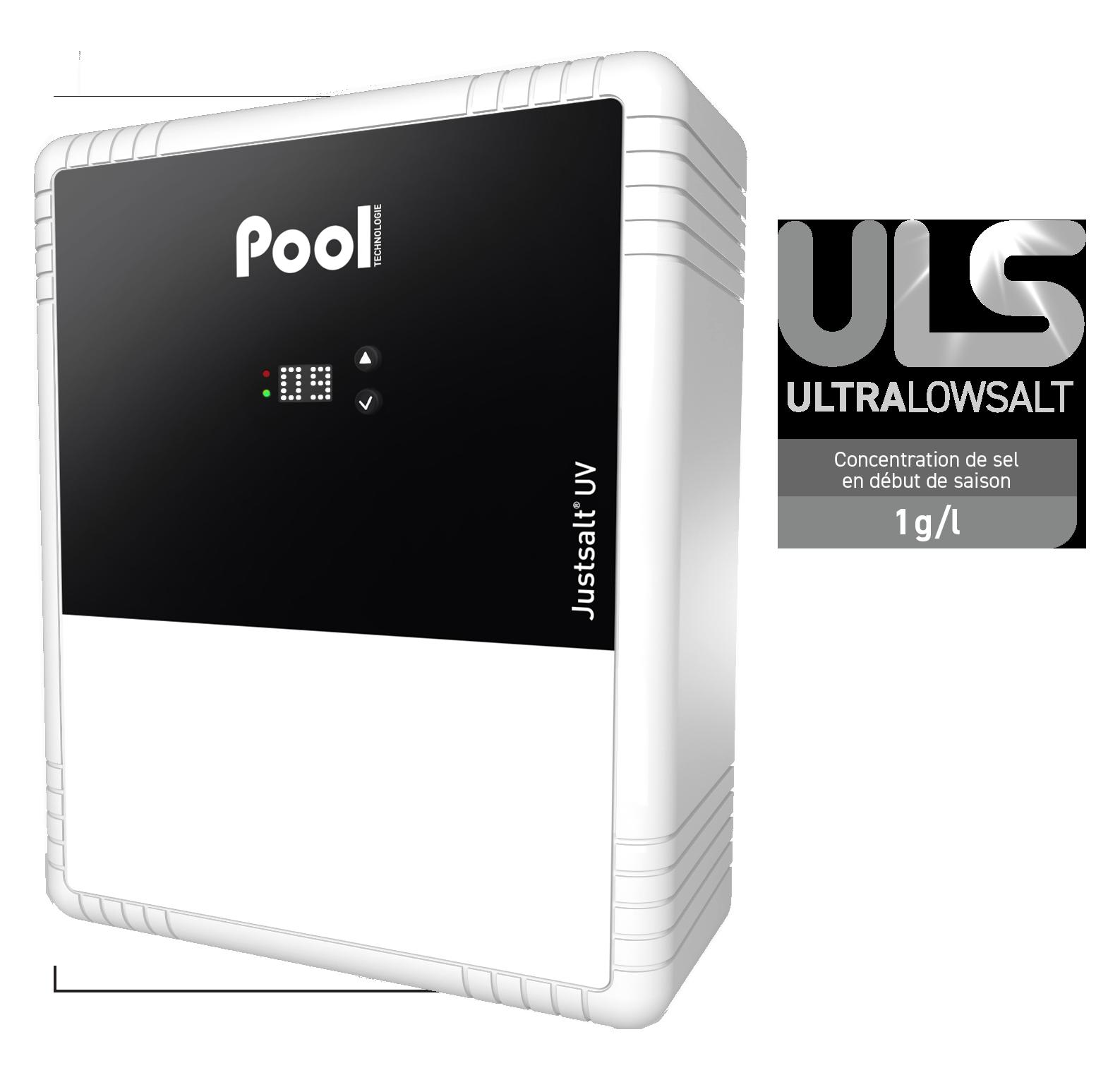 Justsalt UV Ultra Low Salt électrolyseur de sel stérilisateur UV