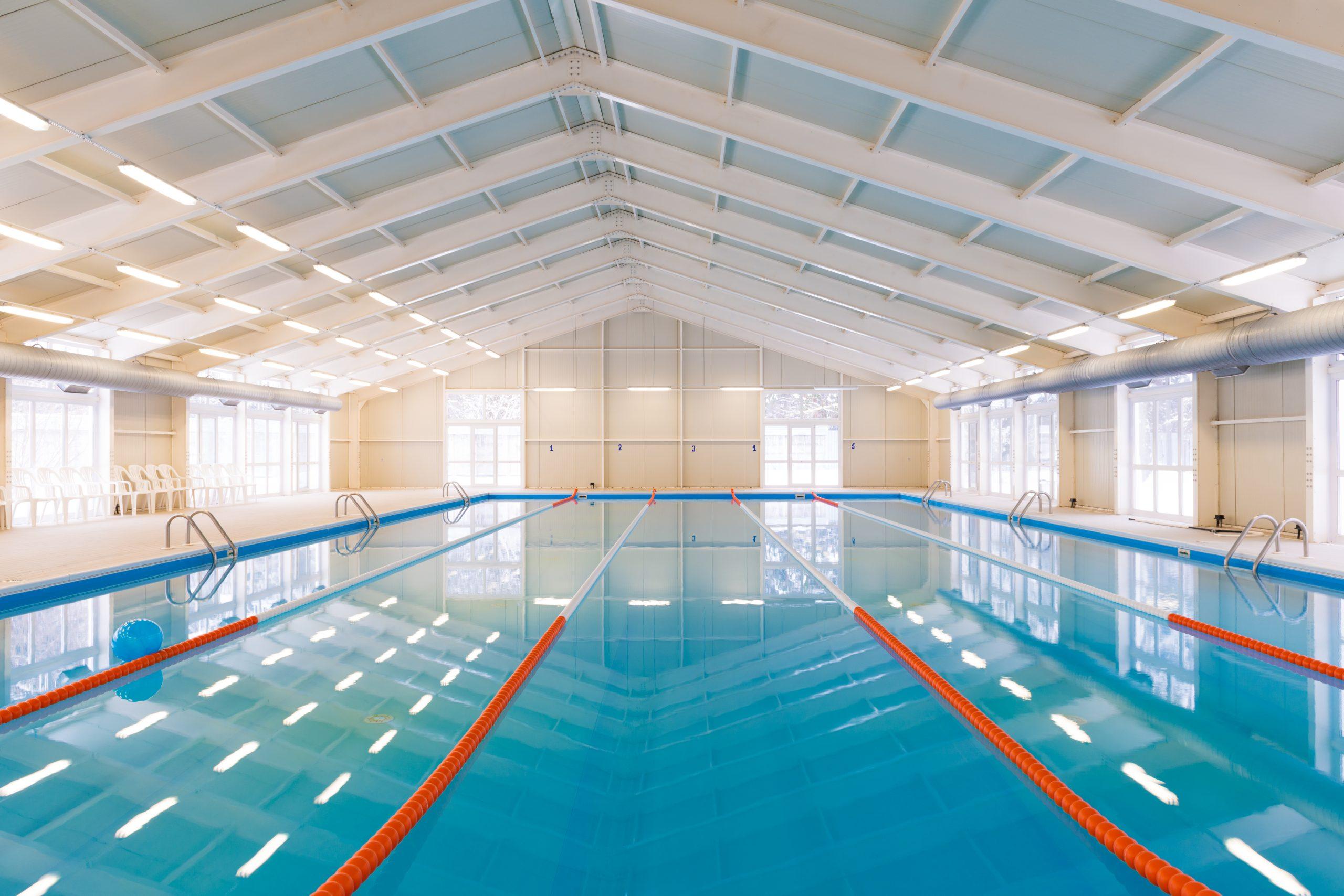 piscine collective électrolyse au sel