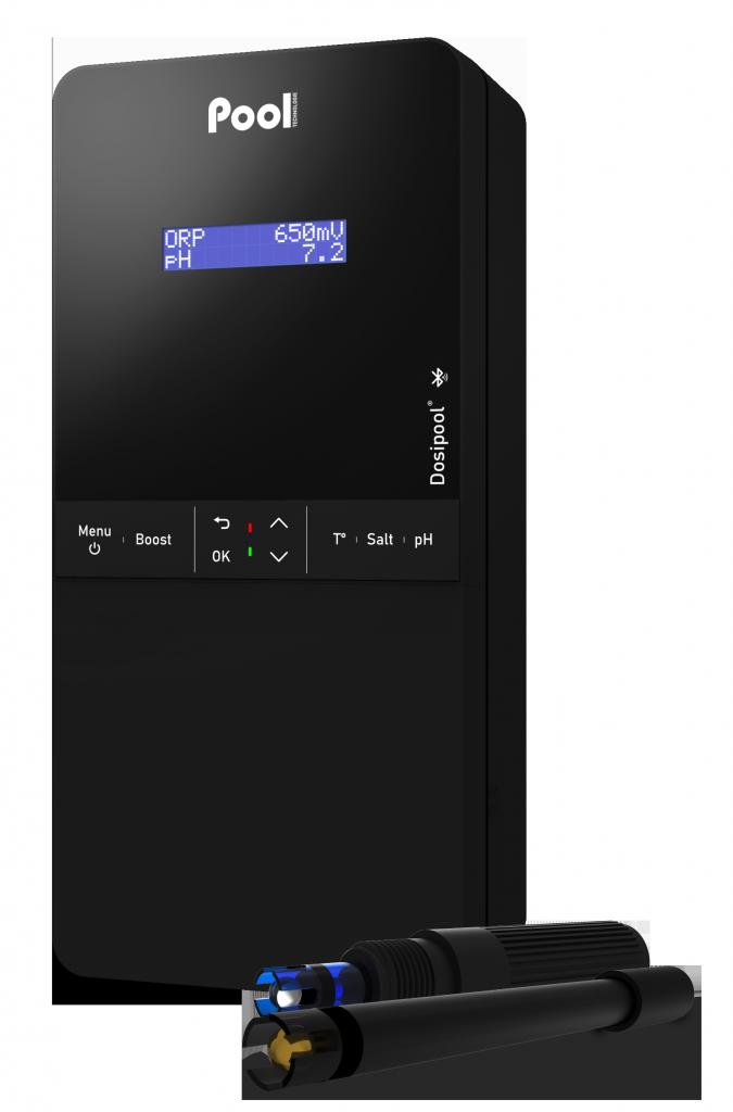 pH regulator chlorine dosage ORP controller Dosipool Pro pH probe ORP probe