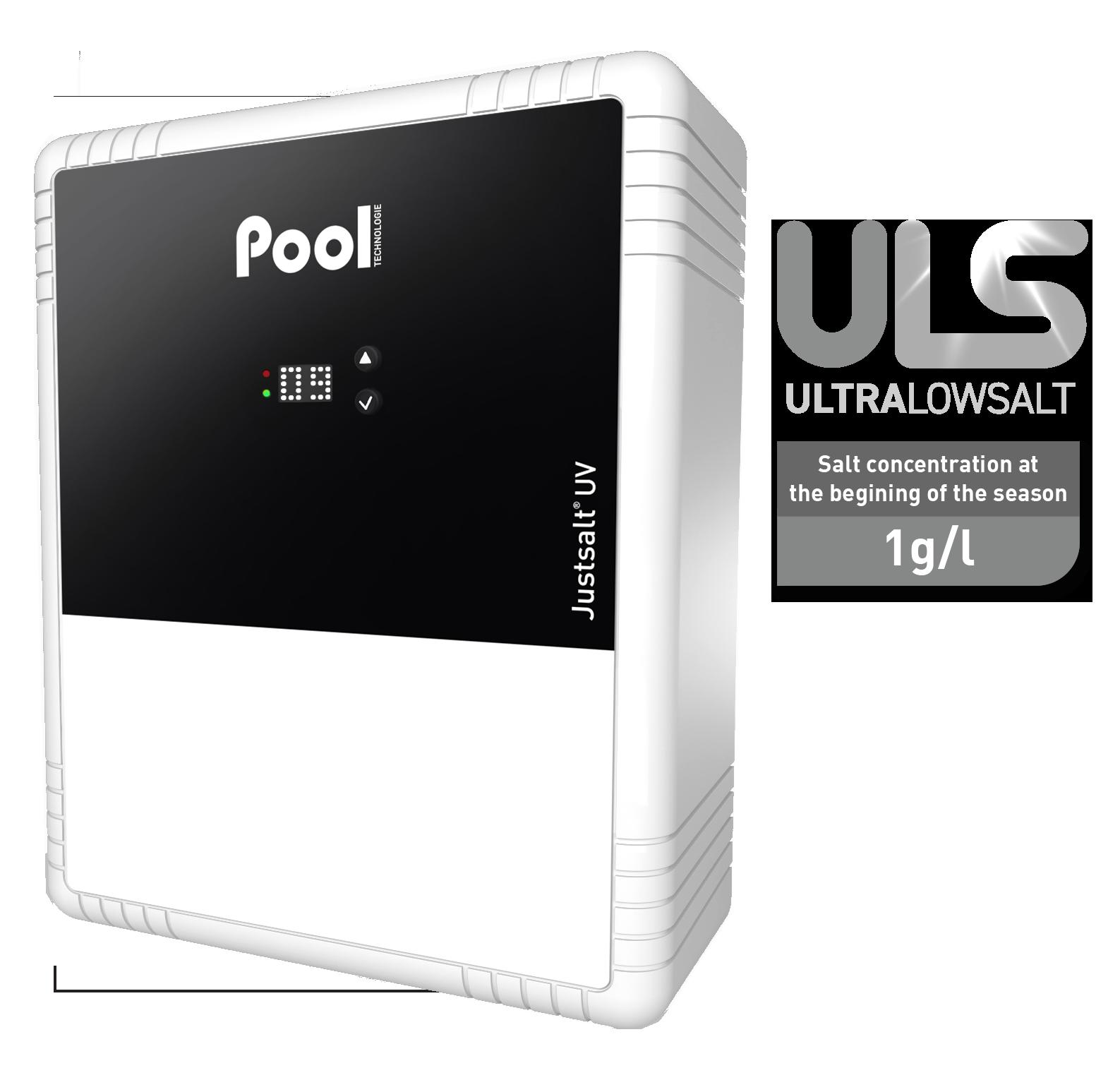 Justsalt UV Ultra Low Salt saltwater chlorinator UV steriliser
