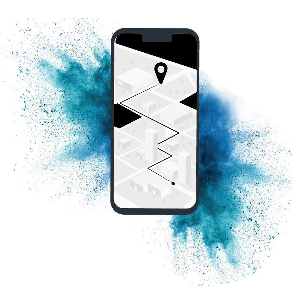 """Carte """"trouvez un revendeur"""" sur mobile"""