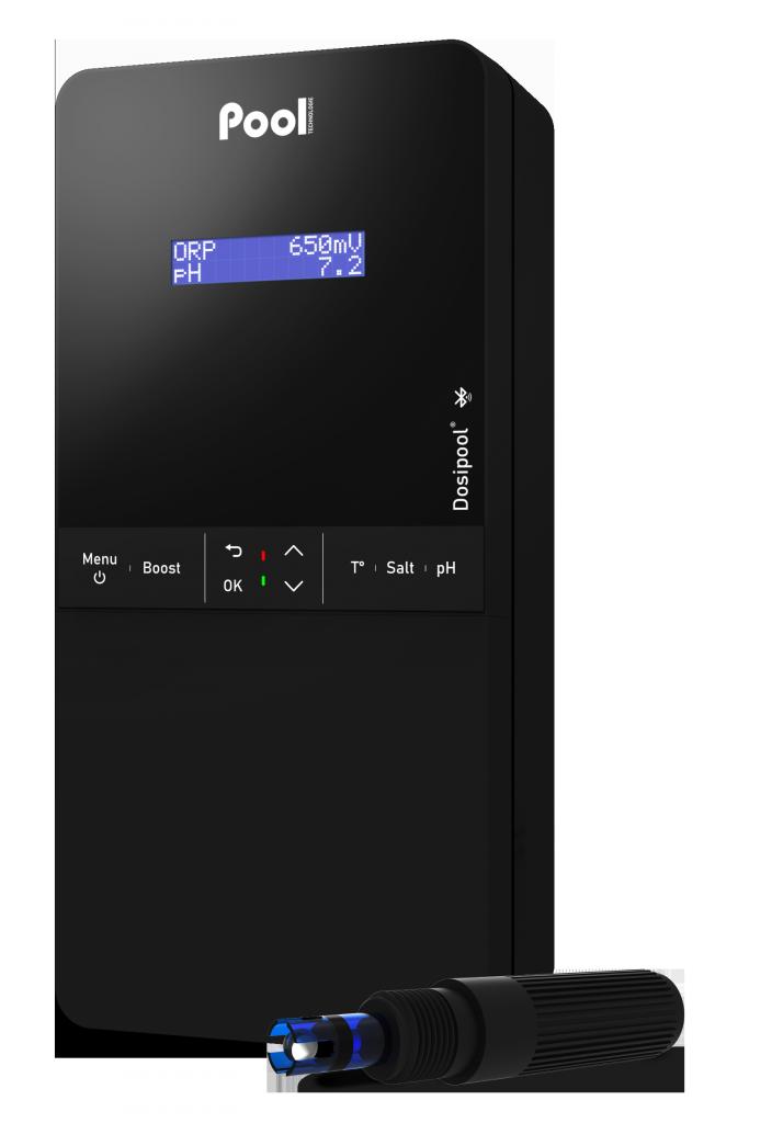 pH regulator chlorine dosage ORP controller Dosipool Pro pH probe